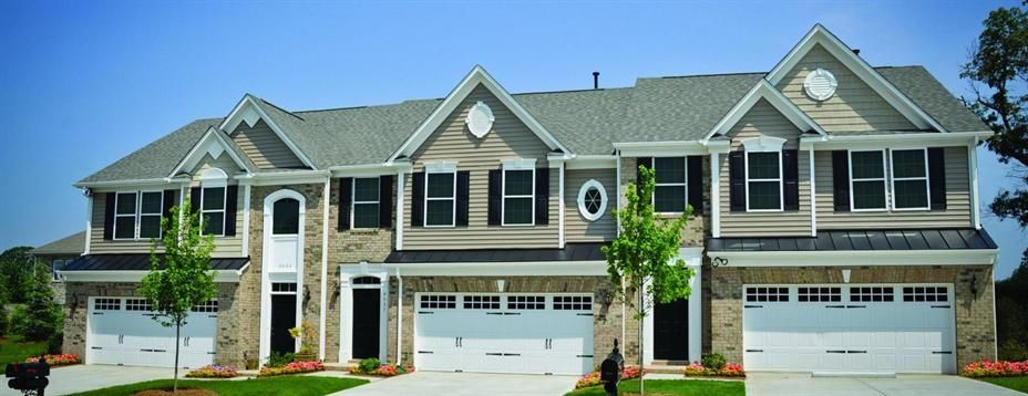 These new townhomes can have a master downstairs, low taxes and great schools!! 704-231-3521