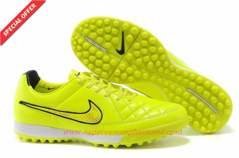 Nike Football Tiempo Legacy TF Yellow Black Red