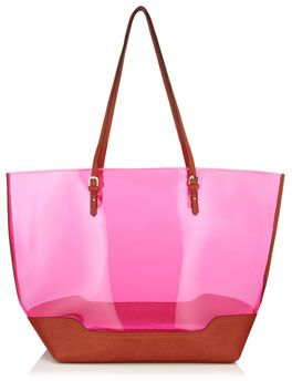 Accessorize Jelly Beach Tote Bag On