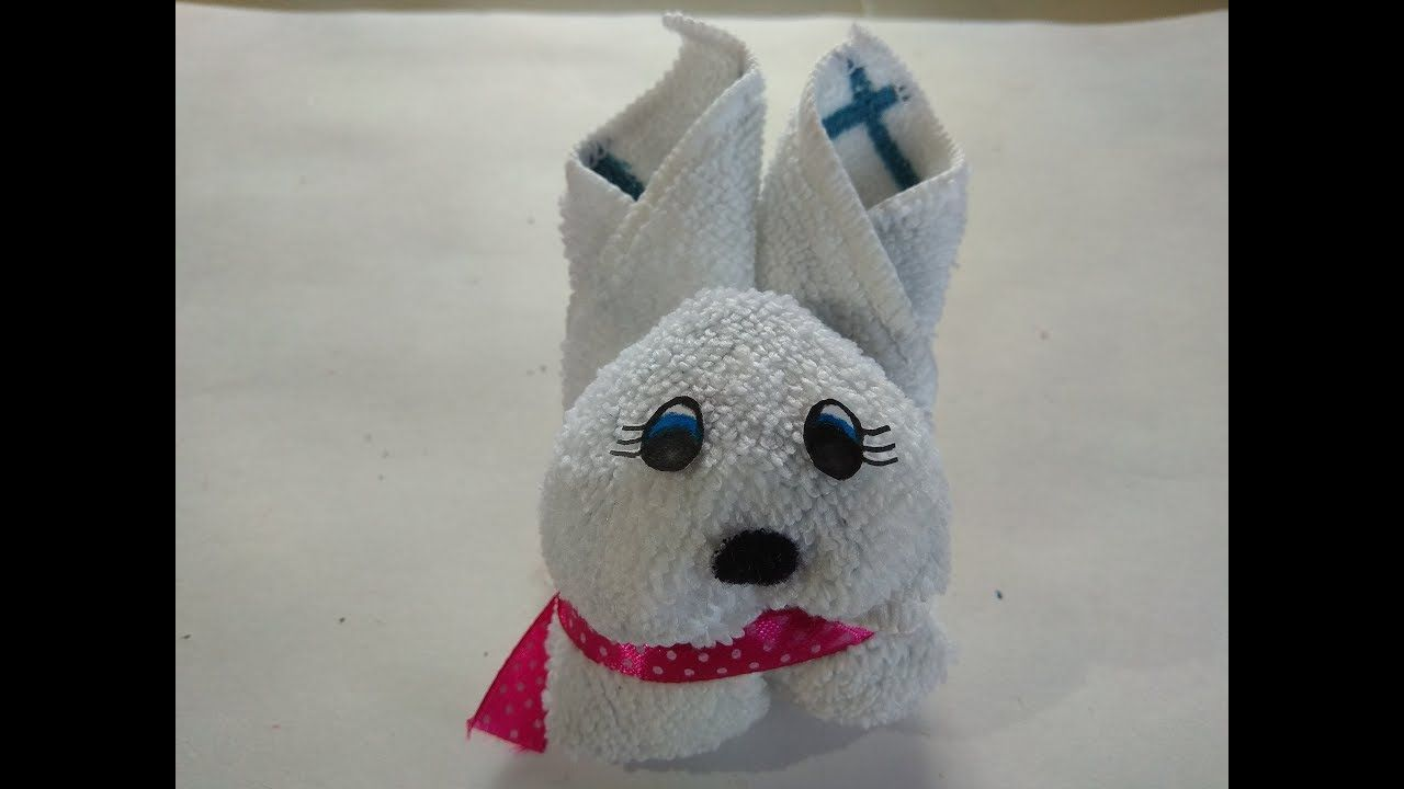 Diy 2 minute rabbit how to make rabbit by towel how