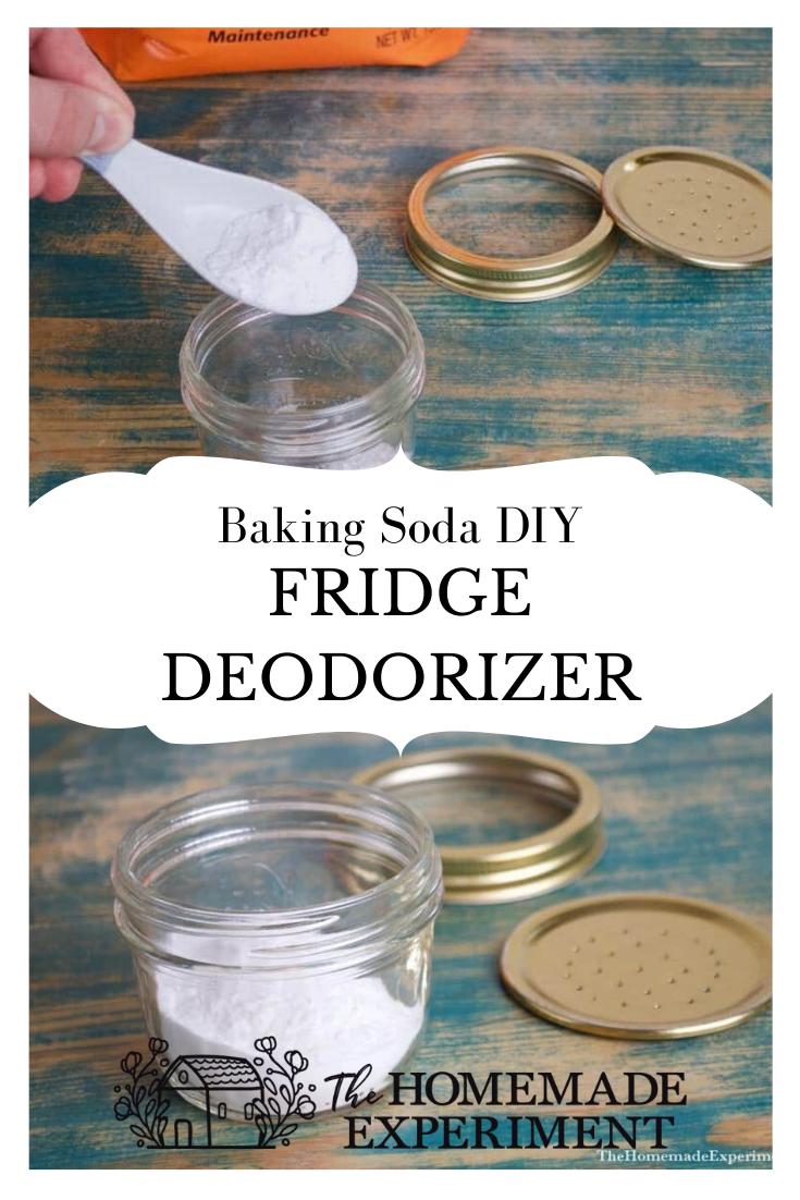 Homemade Baking Soda Fridge Air Freshener And Deodorizer Fridge