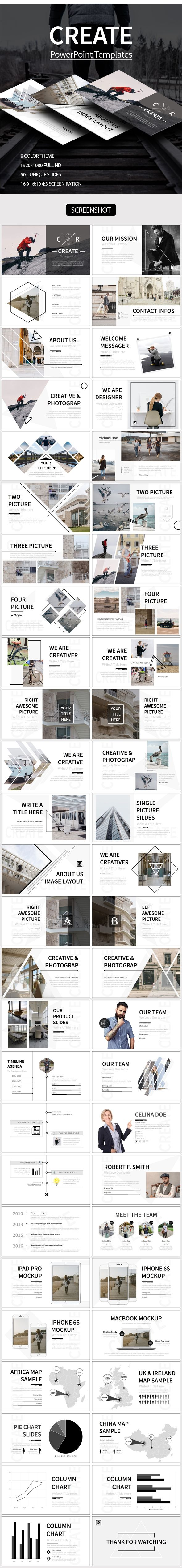 Create powerpoint template apresentao infogrficos e pranchas create powerpoint template toneelgroepblik Images