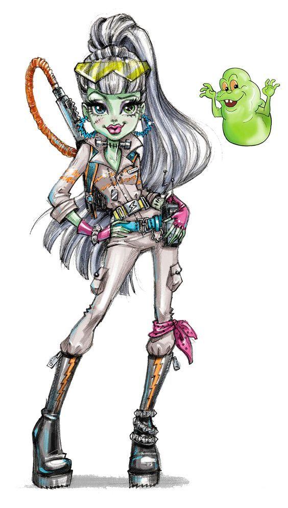 Frankie Stein Monster High Art Monster High Characters Monster High Dolls