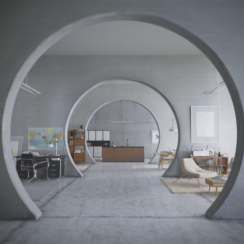Architecture Interior Design: Ring - Bauhaus Interior
