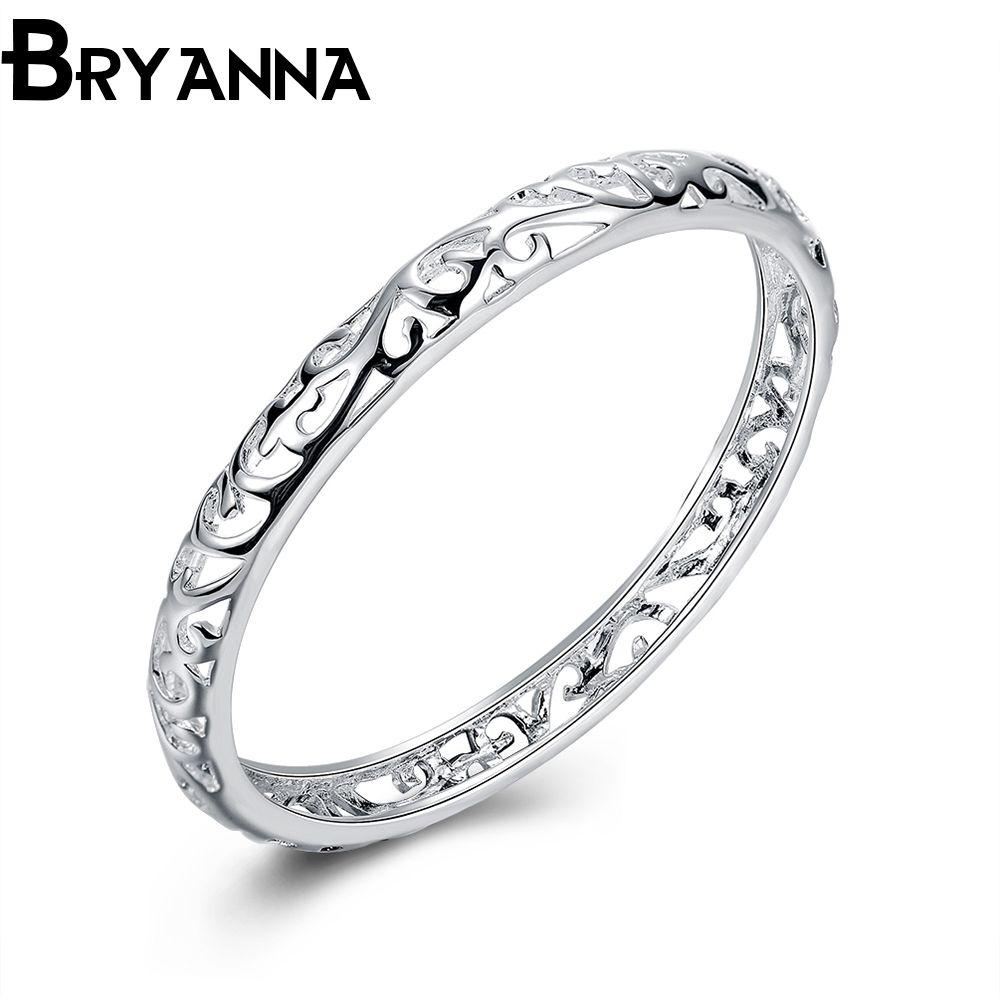 Bryanna classic elegant round love bracelets u bangles for women