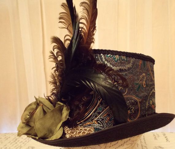 Full Size 'Mina Top Hat by LucretiaMcEvil on Etsy