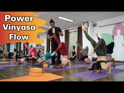 Advanced Vinyasa - Hue Nguyen - Mr. Yoga - YouTube