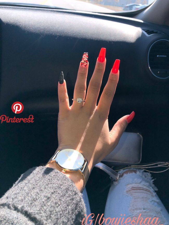 Pin By Chelsy V On Nails In 2019 Pinterest Nails