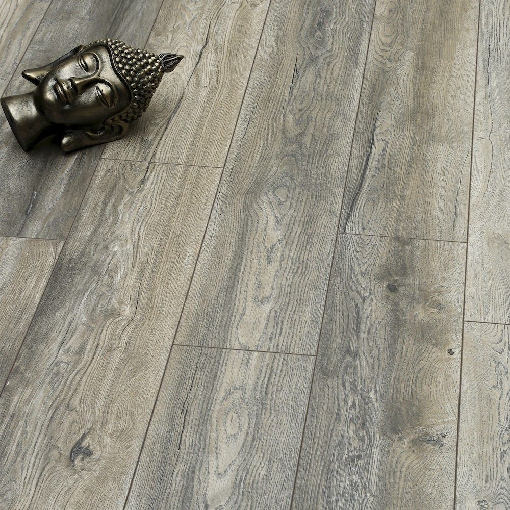 Villa Harbour Oak Grey Laminate Flooring Flooring Grey Laminate Flooring Laminate Plank Flooring