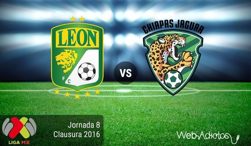 León vs Jaguares en el Torneo Clausura 2016 Jornada 8
