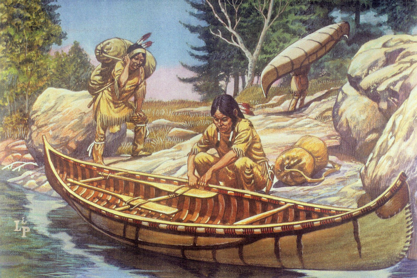 What Natural Resources Did The Algonquins Use