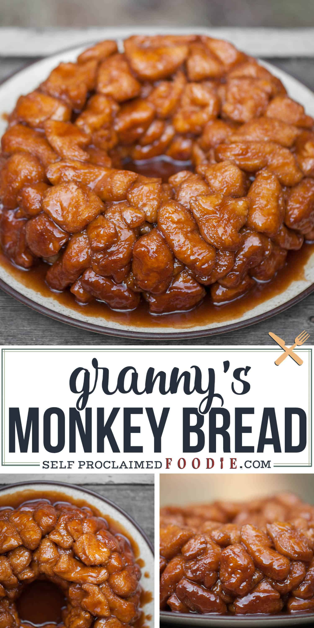 Granny's Monkey Bread Recipe | Self Proclaimed Foodie