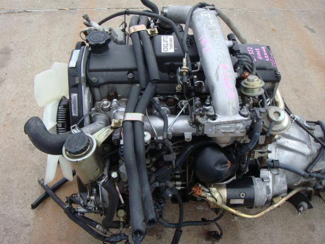 Engine Code 1KZ, Fits in Toyota Hiace, Engine Type