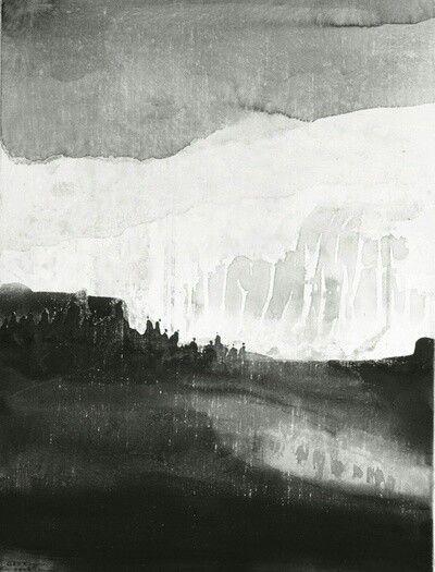 Gao Xingjian Art Noir Et Blanc Peintures Asiatiques Art Paysage