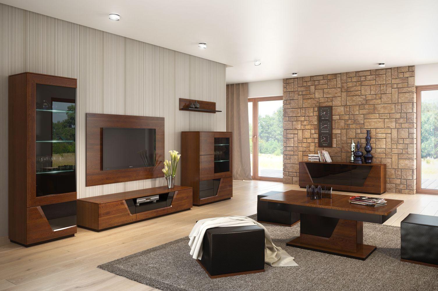 9+ Wohnzimmermöbel-Ideen mit eleganter, geräumiger Dekoration9