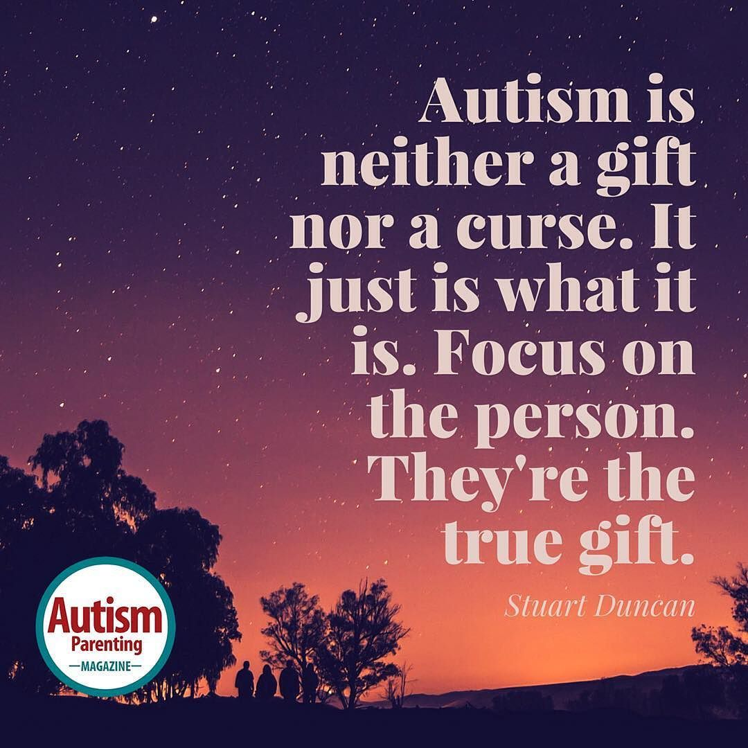"""Another lovely quote from Stuart Duncan Double tap if you liked his quote  Get a FREE issue of Autism Parenting Magazine Just follow us on Instagram: @AutismParentingMagazine Turn on """"Post Notifications"""" so you don't miss out on the contents we're sharing. Link on our profile"""
