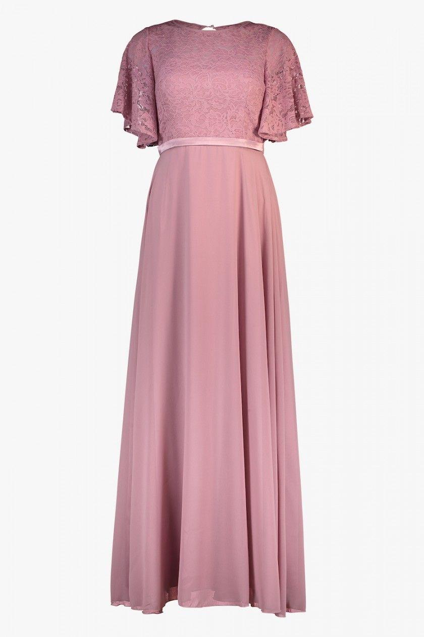 bf1ae7e3 Floyd by Smith Eva lang kjole rosa selskapskjoler - Floyd.no | Wardrobe
