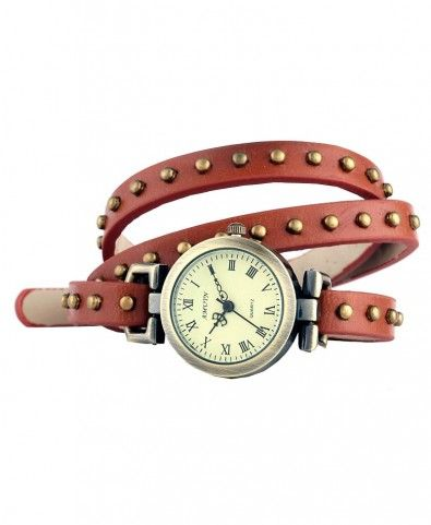 Punk Style Stud Wrapped Watch - Watches - Jewellery - All Products