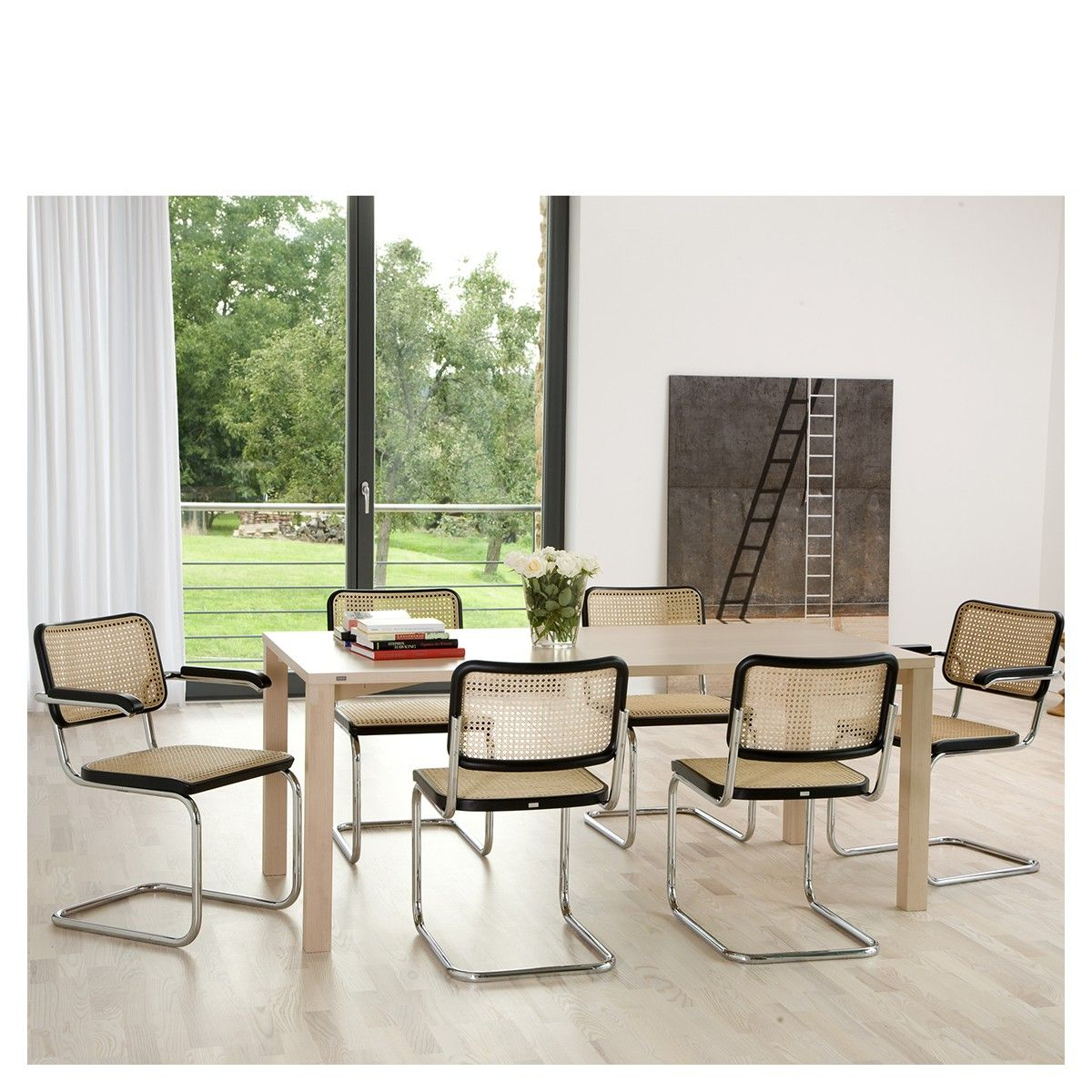 Cesca chairs by Marcel Bauer