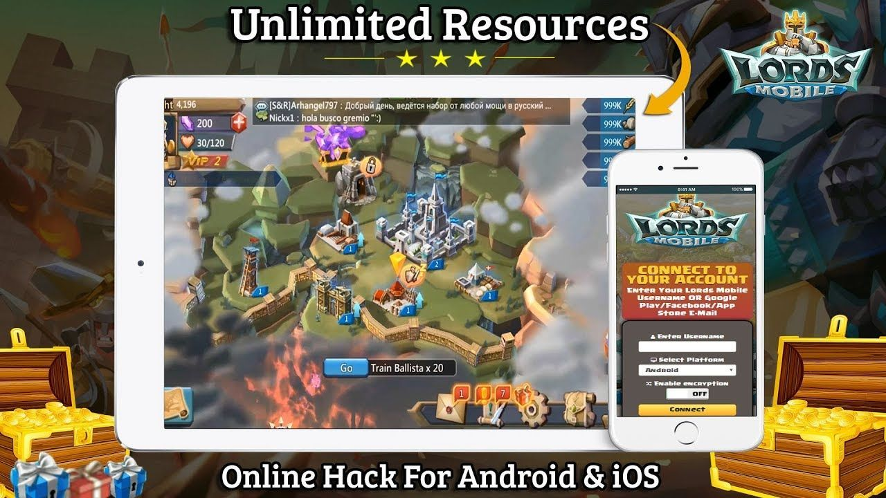 lords mobile hack apk all unlimited