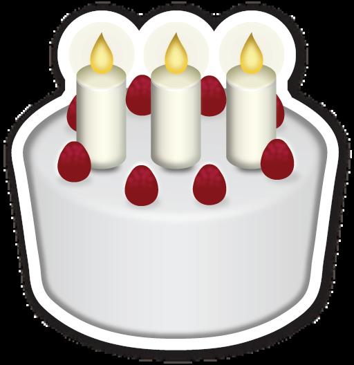 Birthday Cakes, Emojis And Birthdays