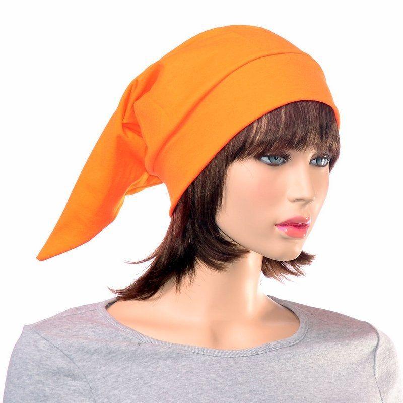Bright Orange Elf Hat Cotton Night Cap Orange Nightcap Brownie ... Bright Orange Elf Hat Cotton Night Cap Orange Nightcap Brownie ... Brownie brownie elf hat