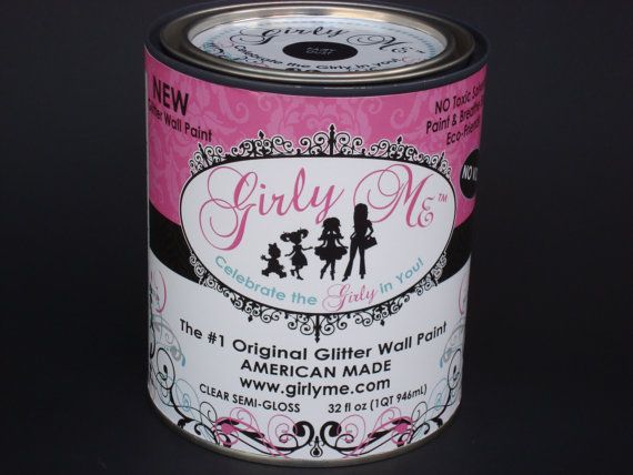 Girly Me Glitter Wall Paint In Fairy Dust Or Bling You