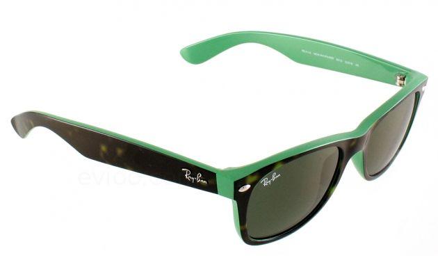 Lunettes de  Soleil  RayBan  Wayfarer 2132 6013 vert   lunettes ray ... f167f6d7b207