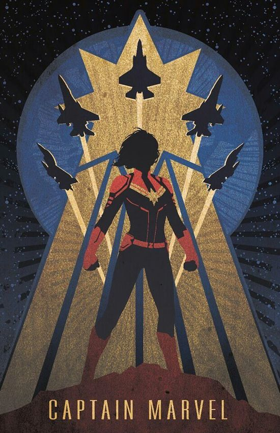 Captain Marvel!!! CAPTAIN MARVEL!!!  messy bob hairstyles - Bob Hairstyles
