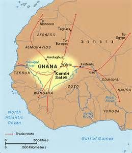 Western African Kingdom S Of Ghana Mali And Songhay Map Africa Africa Map Ghana