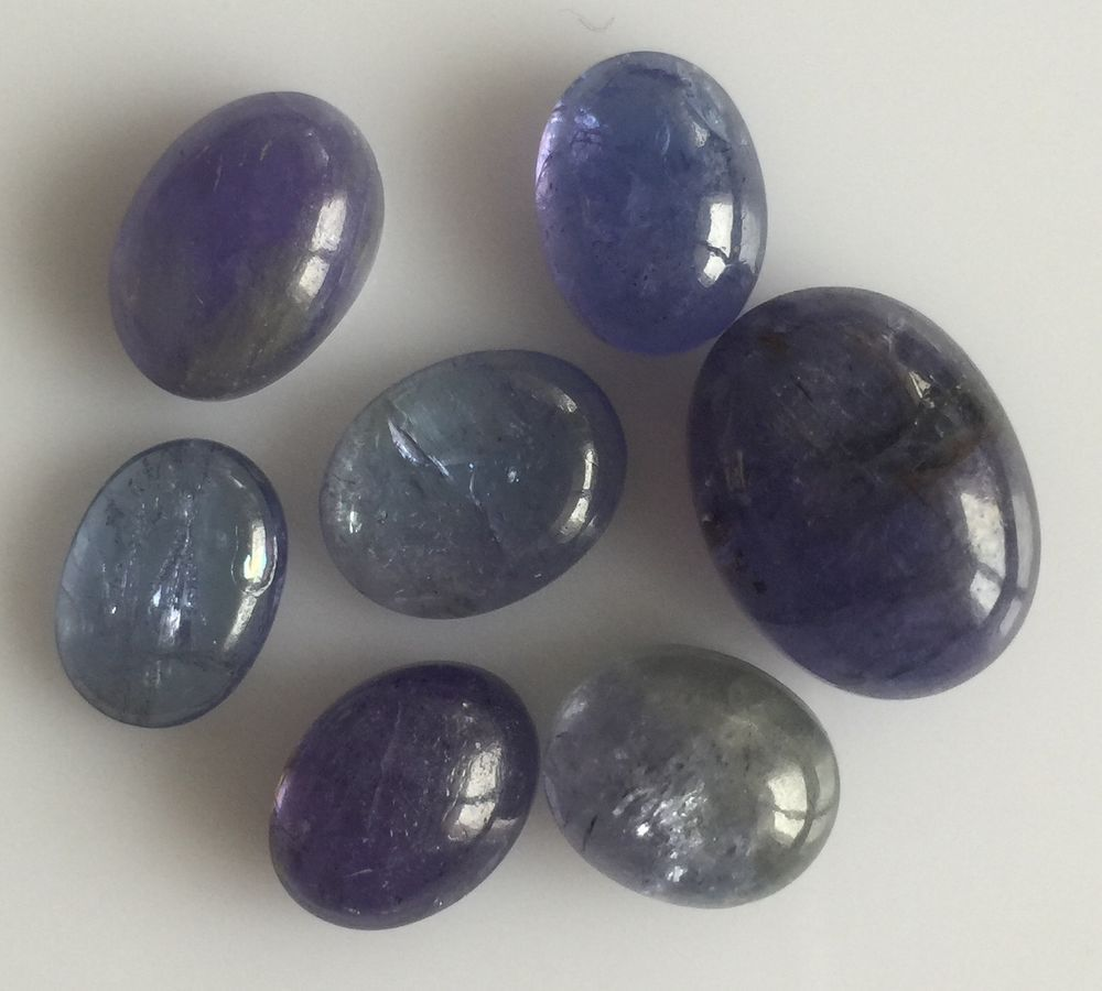 natural cabochon fullxfull il cut listing gemstones tanzanite slice slices rose loose