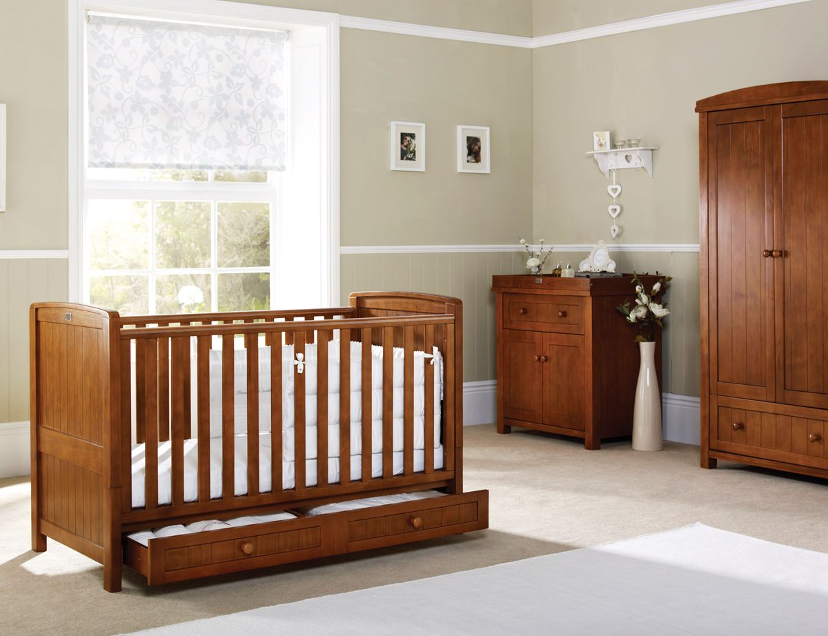 Nursery Cot Bed Junior From Silver Cross Nostalgia Furniture