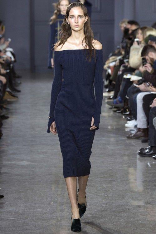 Вязаное платье модные тенденции