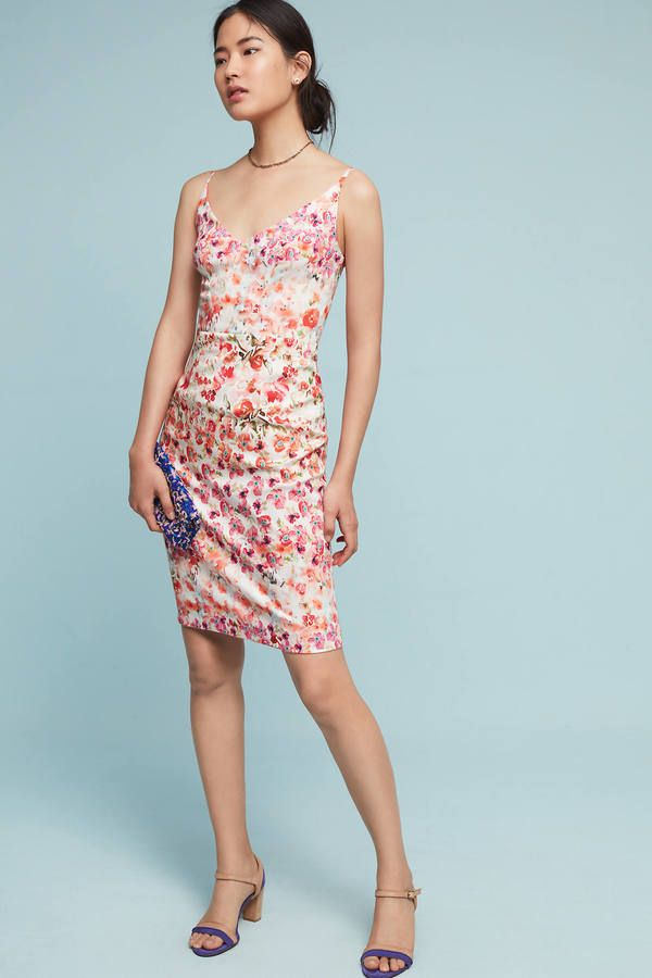 Black Halo All In Bloom Sheath Dress | Your Anthropologie Favorites ...