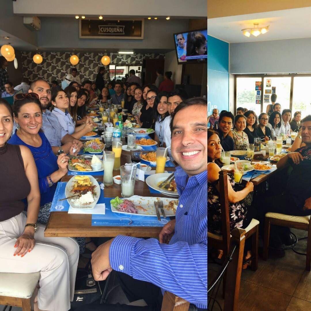 Almuerzo cumpleañero  #Administración y #Finanzas #inchcape #bmwperú