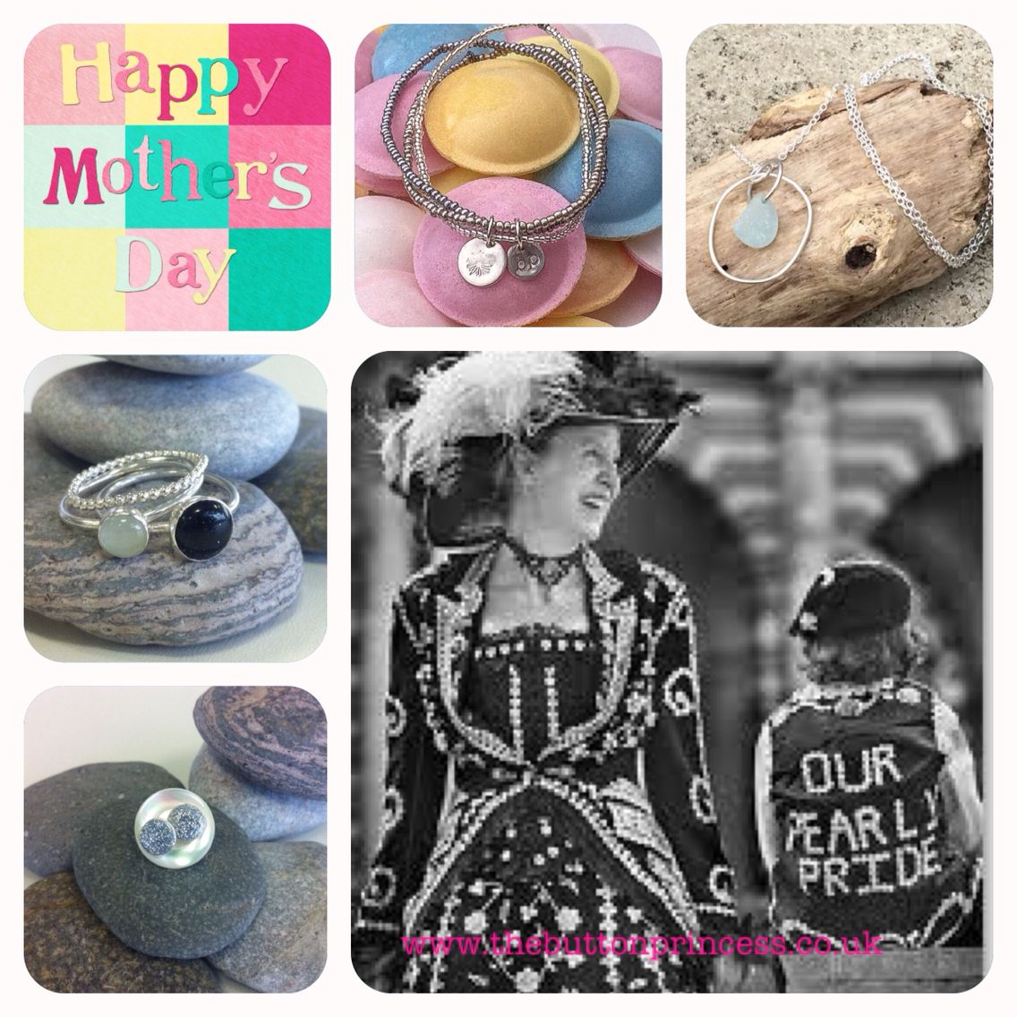 Three weeks today is Mother's Day...here's a small selection of Button silver available now at www.thebuttonprincess.co.uk   #jewellery #jewelry #silver #handmade #original #mothersday   www.thebuttonprincess.co.uk