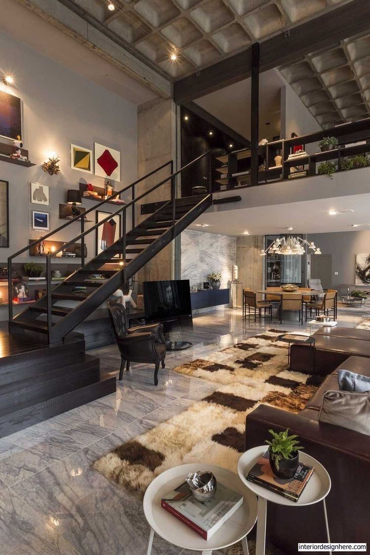 Pin By Jennifer Valencia On Dream Home In 2019 Home Interior Design Loft Design Contemporary Interior Design