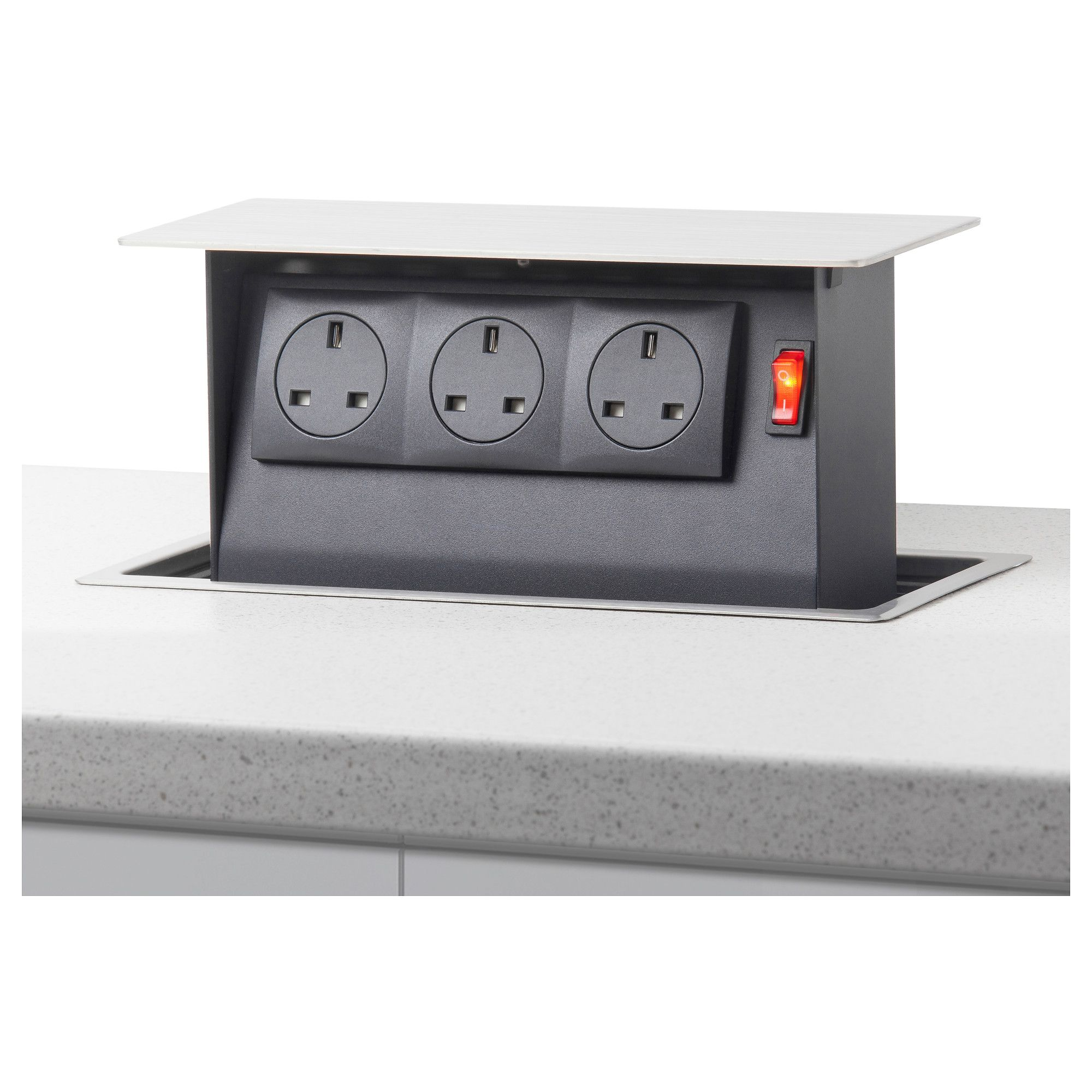 Intensitet Pop Up Power Socket Ikea Power Sockets Laminate