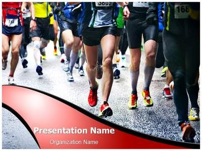 Download our professionally designed marathon ppt template this get our marathon editable powerpoint template now for your upcoming presentation this royalty free marathon toneelgroepblik Images