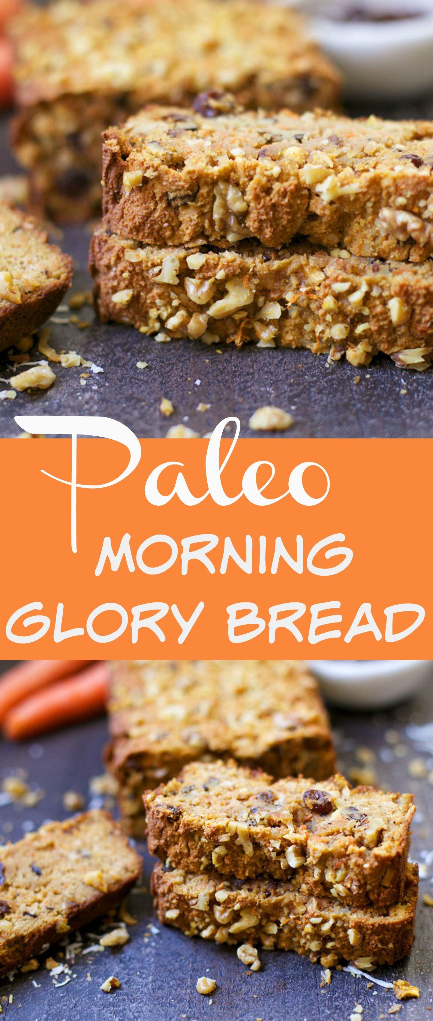 Paleo Morning Glory Bread Recipe Paleo Baking Grain