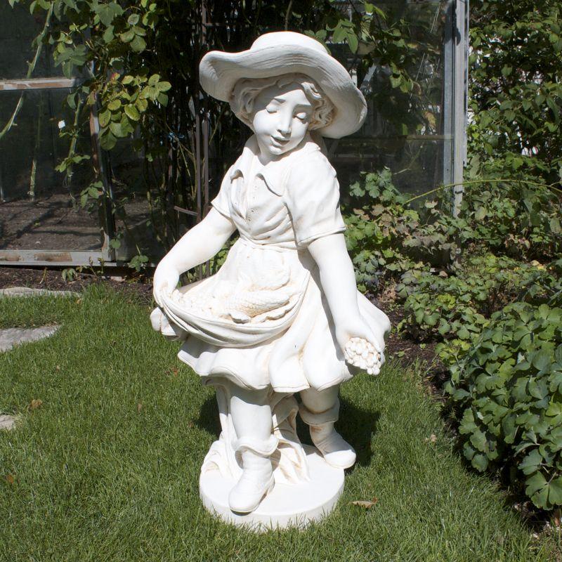 Steinfiguren Garten garten dekoration figur steinfigur gussstein kunststein