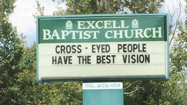 Image result for church signs about cross