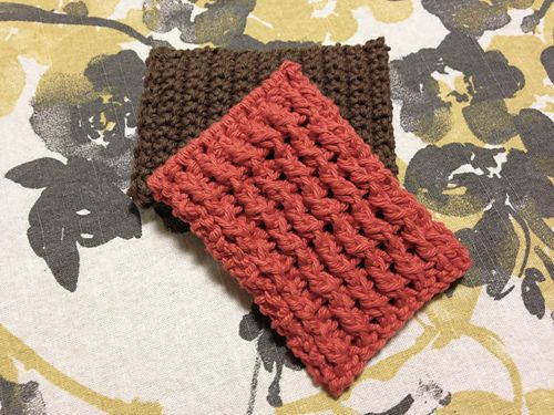Ravelry: Ribbed Dish Scrubbie pattern by Joselle Bannie ...