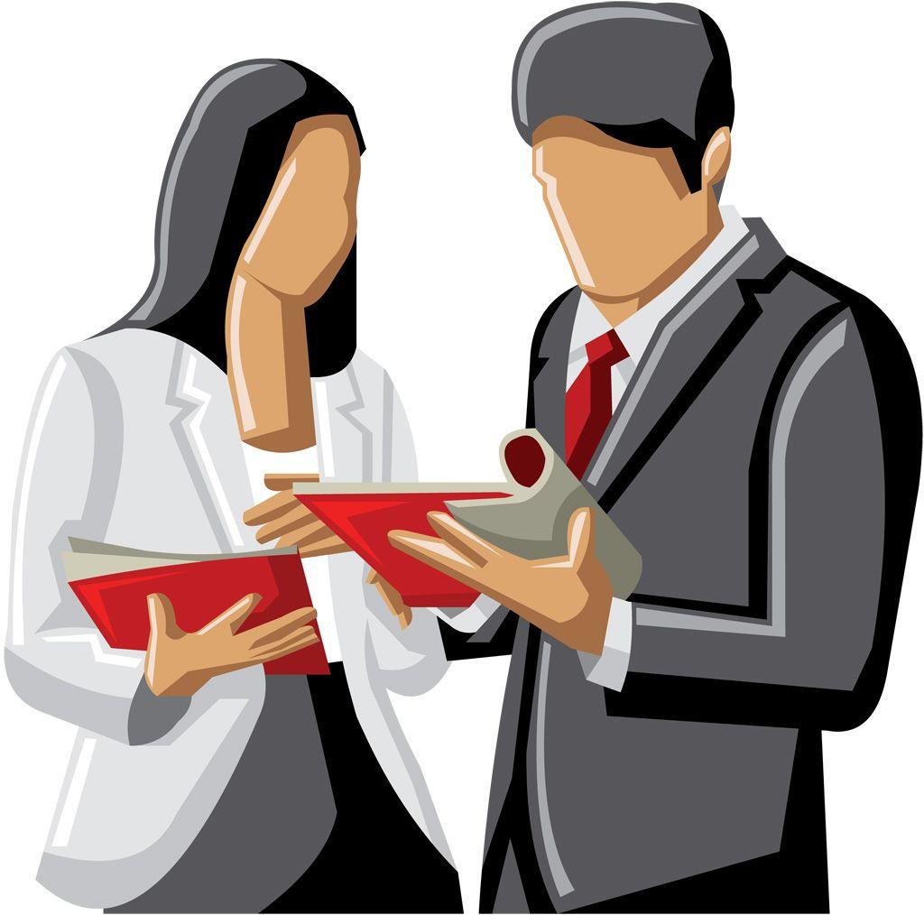 meeting [フリーイラスト素材] クリップアート, 人物, ビジネス, 職業