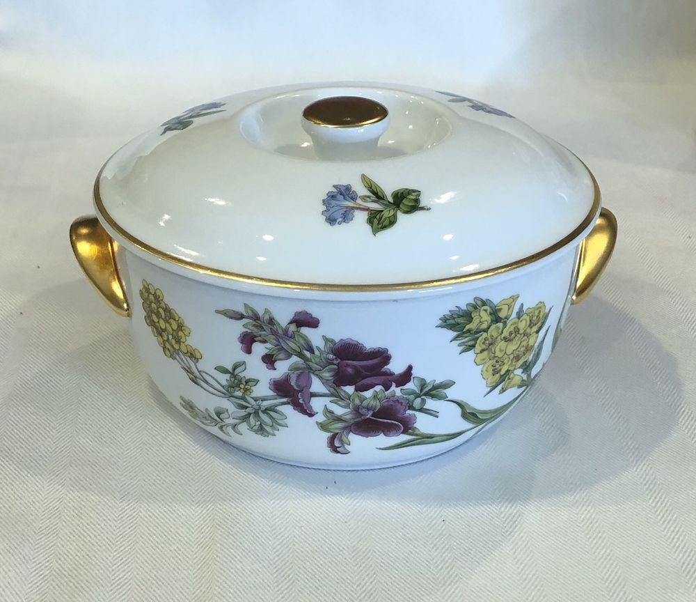 Spode Stafford Flowers 1 Qt Round Oven to Table Covered Casserole Dish & Spode Stafford Flowers 1 Qt Round Oven to Table Covered Casserole ...