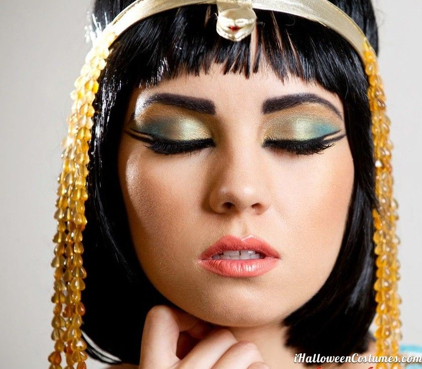Make Up 6 Cleopatra Eye Makeup Lipstick On Your Pillow Inspired Look