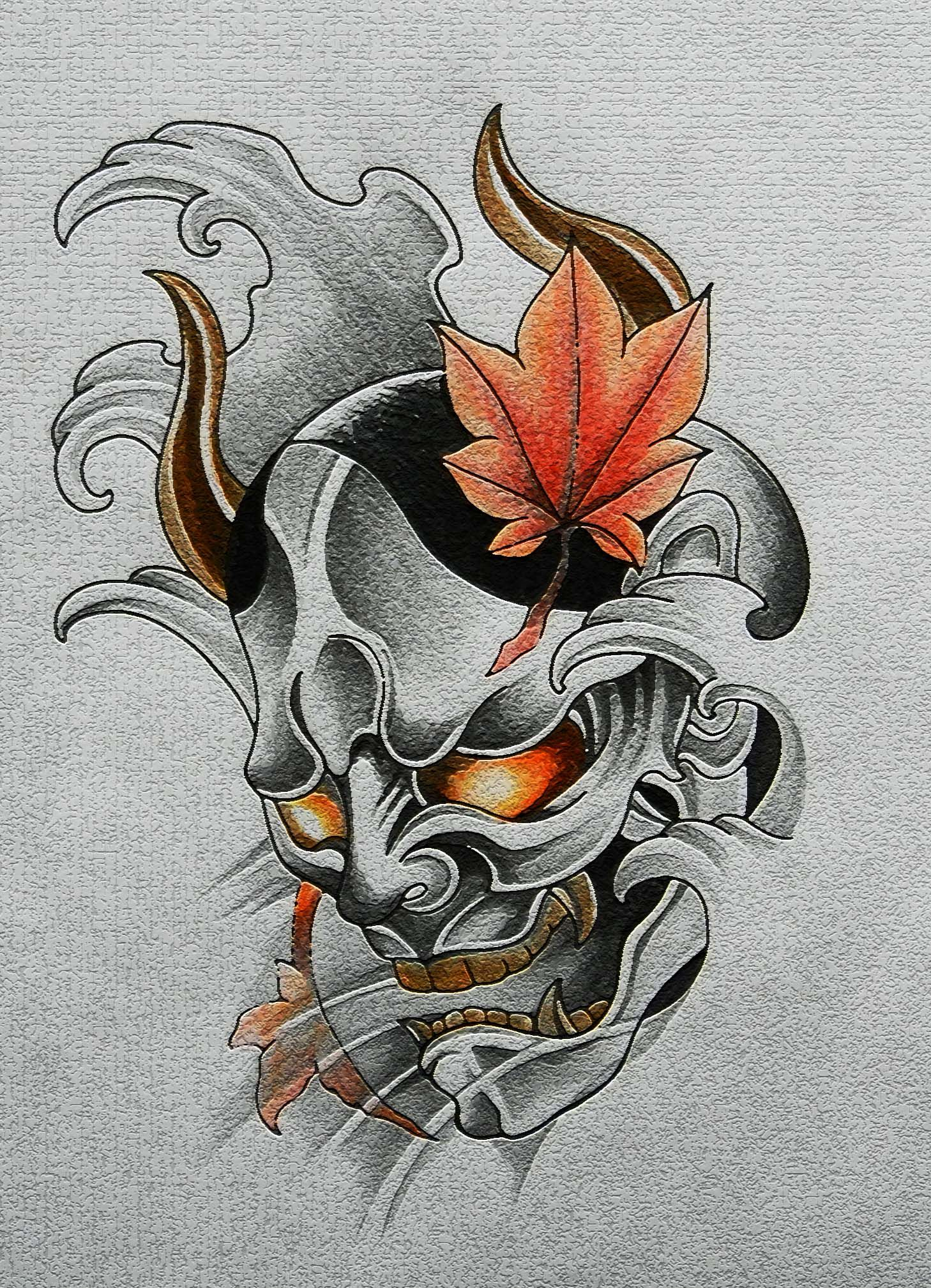 Pin by Eric Tolentino on Shoki the demon queller deck ... |Demon Japanese Traditional Designs
