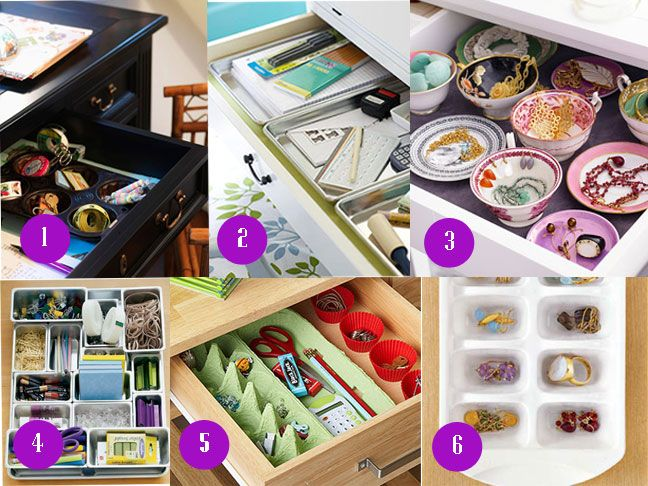 Organizing Drawers In Your House