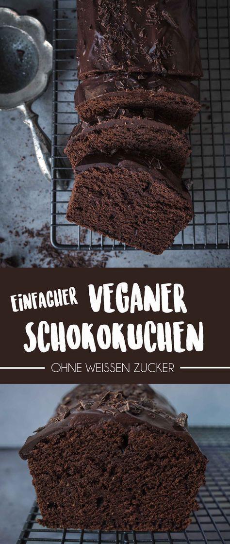 Einfacher Veganer Schokoladenkuchen (Gemacht in unter 1 Stunde) #recipesforshrimp