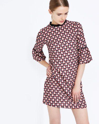 f4345d8991a33 Savida Geometric Print Dress | Savida autumn winter 2016 | Fashion ...